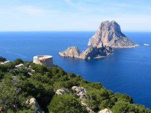 Cala d'Hort a Ibiza
