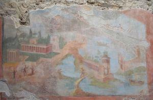 affresco casa della fontana a POmpei