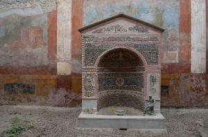 casa della fontana a Pompei